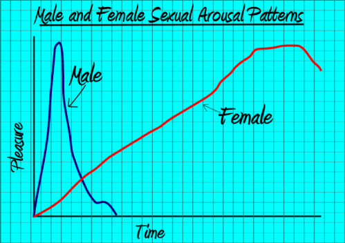 Male and Female Sexual Arousal From Penis in Vagina Sex